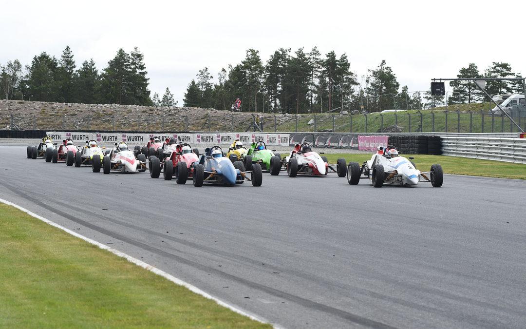 NEZ-mästerskapet för historisk racing avgjort på Rudskogen